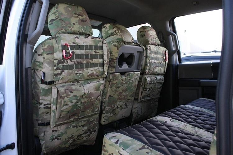 Sturdy Ford F-150, F-250 Seat Covers